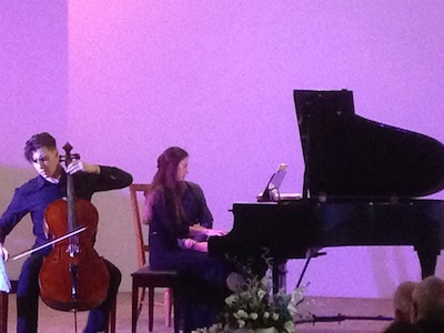 piano cello concert