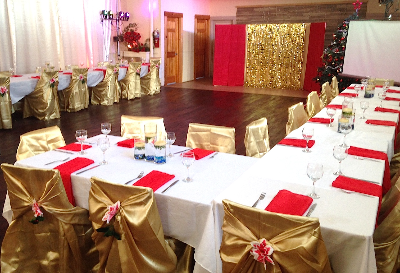 banquet hall new year party